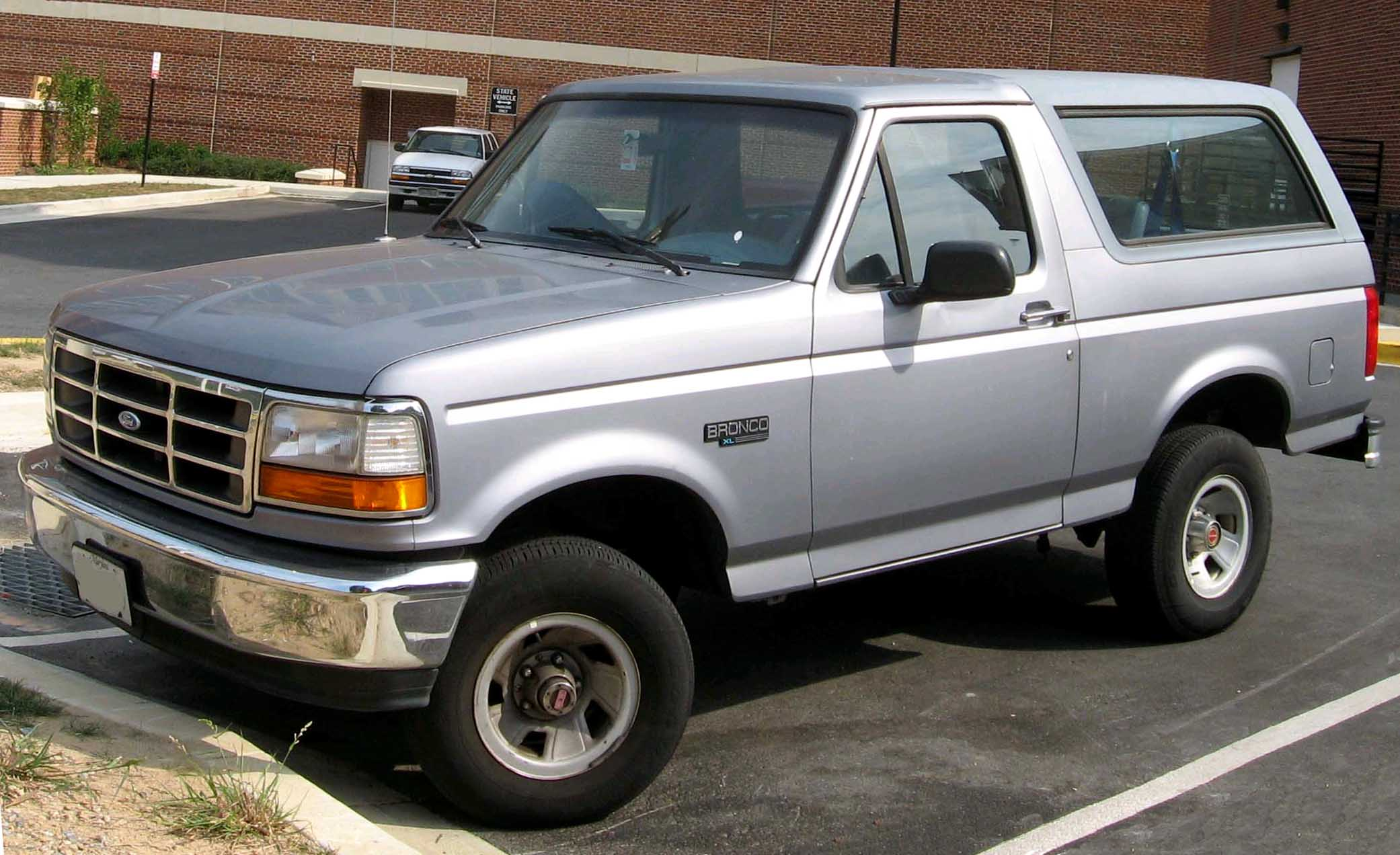 Ford Bronco - Tractor & Construction Plant Wiki - The classic vehicle