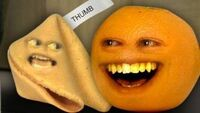 Annoying Orange Fortune Cookie