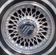 Alloy wheel mercury