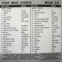 Promo only pop mix video dvd march 2005 duran duran 1