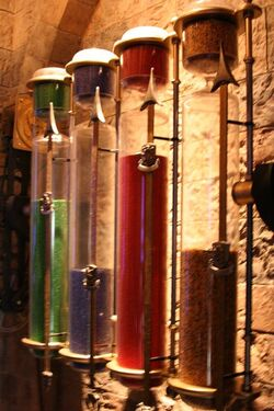 Great hall hourglasses