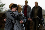 DH1 The trio embrace