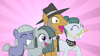 Pinkie Pie's family overjoyed by Pinkie's party S1E23