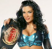 Danielle as PCW Broadcast Champion