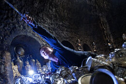 DH2 Harry Potter in Bellatrix Lestrange&#39;s vault