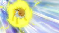 EP648 Jolteon usando rayo