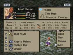 FFT Equip Armor