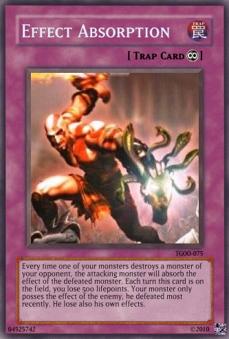Effect Absorption - Yu-Gi-Oh Card Maker Wiki - Cards, decks, booster