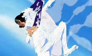 Ficha Mágica de Nobu Ao_Kiji_vs_Luffy