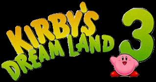 Kirby's Dreamland 3 arrive sur la console virtuelle européenne !! KDL3_logo