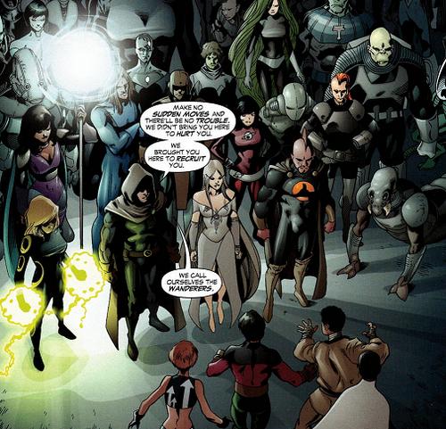 Wanderers earth prime dc comics database