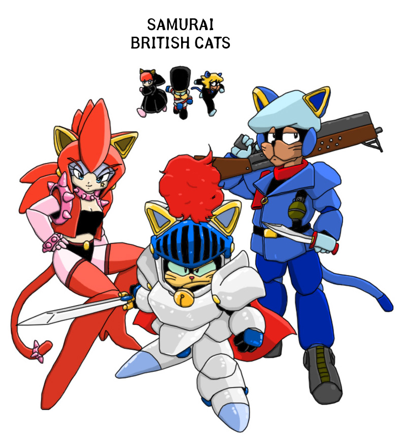 Samurai Pizza Cats Polly Samurai Cat Images Pictures Photos Icons And Wallpapers Ravepad The Place To Rave About Anything And Everything