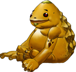 Goron Artwork (Ocarina of Time)