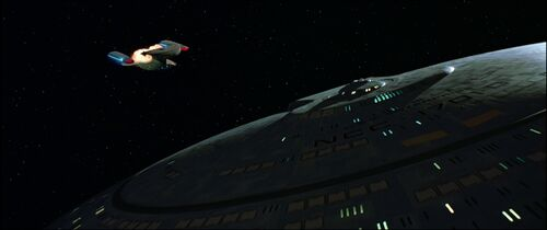 USS Enterprise-D, warp core breach