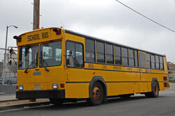 Gillig Phantom School Bus LAUSD