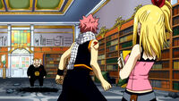 Natsu confronts Everlue