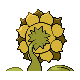 Sunflora GenIV Back shiny