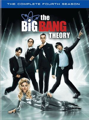 The Big Bang Theory Season 4 DVD