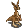 Kangaroo & Joey-icon