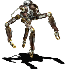Security robot render