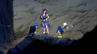 Wendy find Erza and Jellal