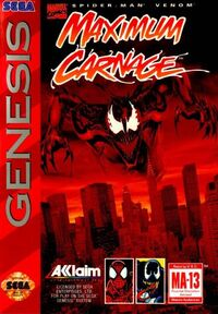 Spider-Man and Venom Maximum Carnage