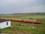 New trains of Moldova