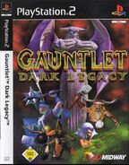 Gauntlet06DL Render Cover PAL 1 PS2 and Xbox