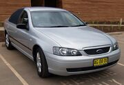 2004-2005 Ford BA II Falcon XT sedan 01