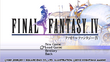 FFIV Title Screen PSP