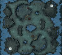 Xel'NagaCaverns SC2 Map1