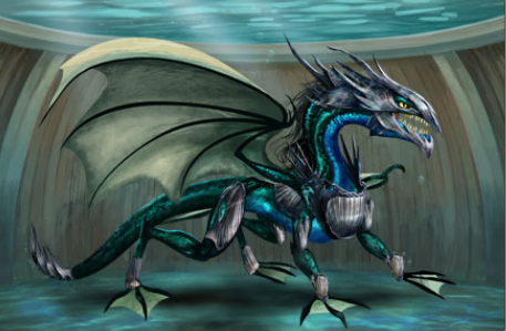 Dragon aquatique