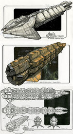 Cardassian freighter first design