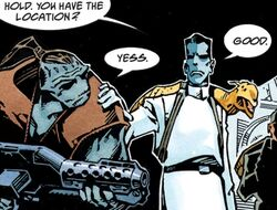 Thrawn and Rukh on Wayland