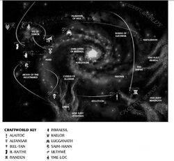 Galactic Craftworld Locations