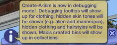 The Sims 2 CASDebug