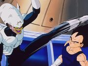 Vegeta overwhelms Pui Pui