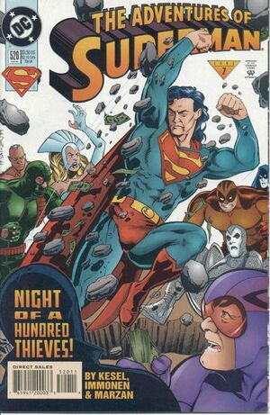 Cover for Adventures of Superman #520