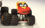 Lightning mcqueen monster truck mater
