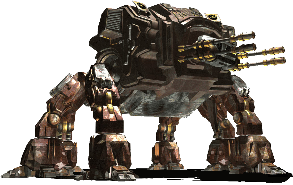 Behemoth robot render