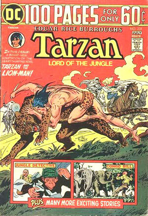 Cover for Tarzan #231