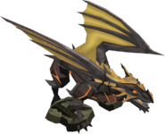 Completionist cape trimmed dragon