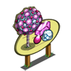 Pink Gem Tree Mastery Sign-icon