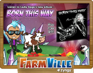 Born This Way Loading Screen + Free Album Hologram