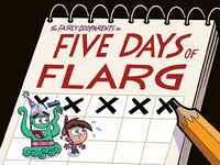 Titlecard-Five Days of FLARG