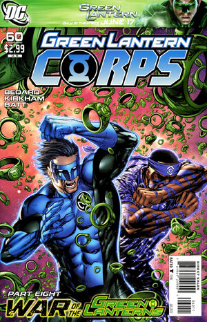 Cover for Green Lantern Corps #60