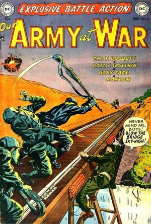 Cover for Our Army at War #5