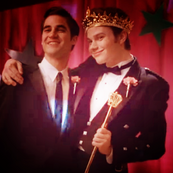 Klaine at prom