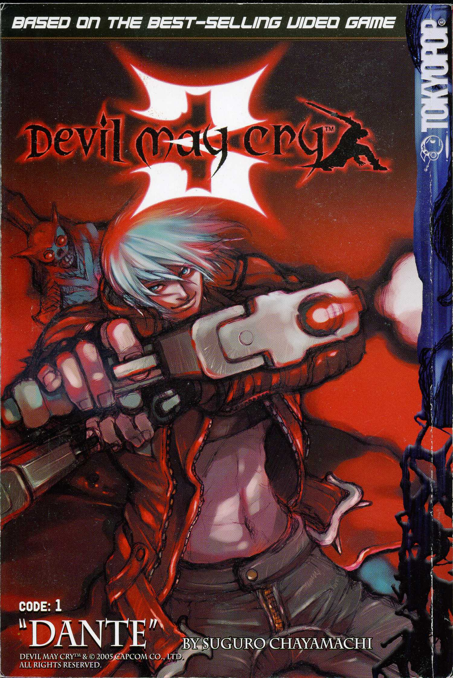 Dmc3 manga dante