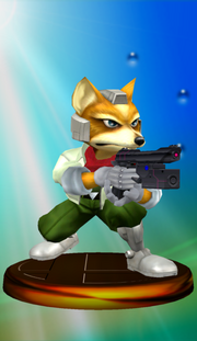 277px-Fox Trophy (Smash)
